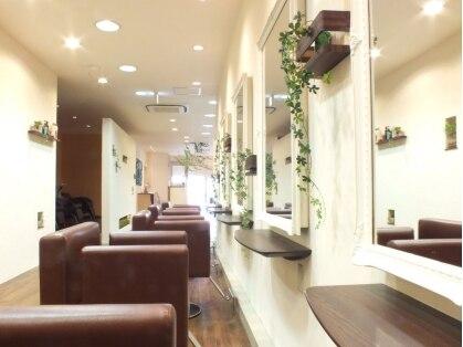 イデー ヘアサロン 駅前店(idee Hair Salon)の写真