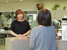 ささ美容室 東京第一ホテル 鶴岡店の雰囲気(明るいスタッフばかりです♪お気軽にお越し下さい)