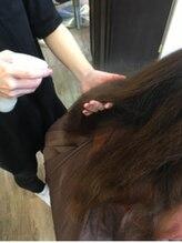 ツヤ髪工程、薬剤施術前にサロンで約100%率で行うケアトリートメント、其の1  【Loa mio】【仙台駅前】