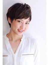 シー ダイカンヤマ(SHE DAIKANYAMA)アシメベリーショート 【SHE DAIKANYAMA】菊地真理恵