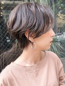 レムバイフラミューム(L.E.M by flammeum)の写真/白髪染めもオシャレに★豊富なカラー展開×低価格×高品質薬剤で、シーズン毎にカラーチェンジを楽しんで♪