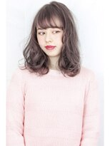 ヘアサロンガリカアオヤマ(hair salon Gallica aoyama)☆『 ミルクティーグレージュ & 毛束感 』無造