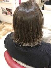 エクリュ(ecru by marl)髪質改善ヘアケアセラムカラー