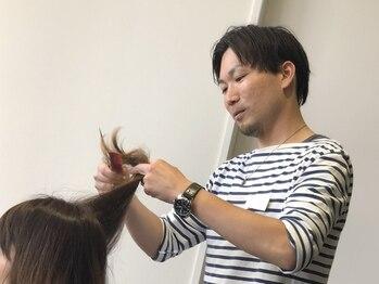 アノアノ('ano 'ano)の写真/経験豊富な実力派スタイリストが責任を持って担当。お客様を大切にし納得のヘアに仕上げてくれる本格施術◎