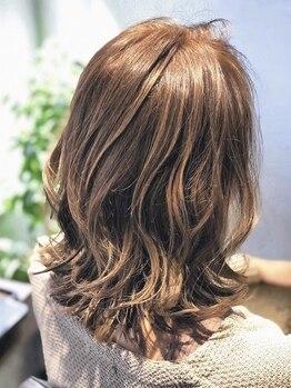 ヘアーナイスデイ ワンスター(Hair nice day ONE STAR)の写真/【発寒南】経験に裏打ちされた高い技術で年齢とともに増えるお悩みにしっかり寄り添い解決☆