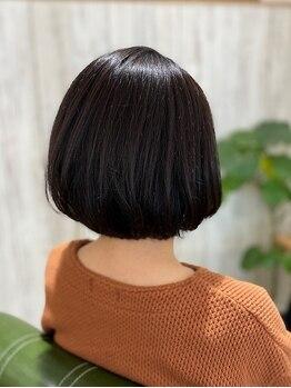 トレイス(TReiS)の写真/頭皮と髪に優しいオーガニックカラーを使用!ダメージを軽減しながら染めるので内側から輝く髪色に☆