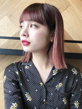 ラテ 武蔵小杉(LATTE)の写真/【フルカラー+カット¥4500】気軽に通える贅沢サロン♪仕上がり・ダメージレスにこだわり、なりたい髪色に♪