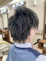 クック ヘアー(Cook Hair)ツーブロックショート03