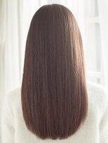 髪質改善×カラー