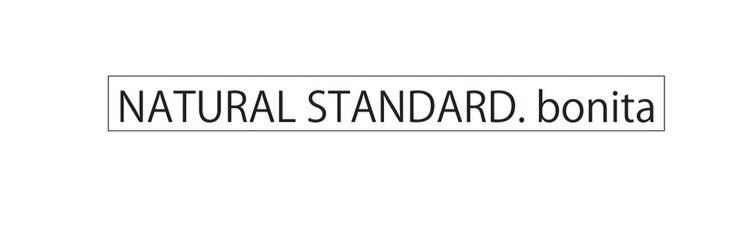 ナチュラルスタンダードボニータ(NATURAL STANDARD. bonita)のサロンヘッダー