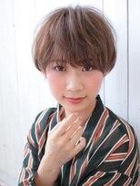 《Agu hair》大人かわいいマニッシュボブ