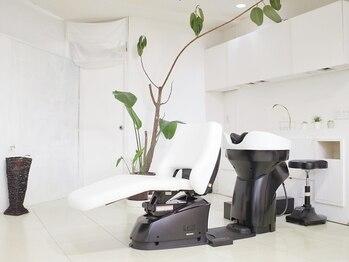 シュシュ(shushu)の写真/フルフラットシャンプー台『YUMEシャン』で極上の癒しを♪天然海草使用!界面活性剤フリーの天然ヘッドスパ!