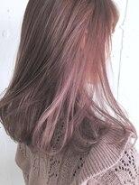 [CHELSEA]インナーカラーピンク☆お客様スタイル
