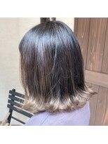 ヘアーメイク アフィーノ(hair make affino)裾カラー♪