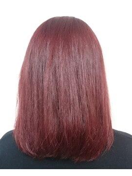 ソイル ヘアー(soil hair)透明感レッド