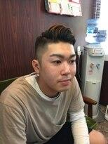 ヘアーサロン イシマル(Hair Salon ISHIMARU)ベリーショートの七三スタイル!