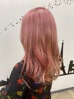 ヘアーサロン エール 原宿(hair salon ailes)(ailes 原宿)style452 フラミンゴピンク☆くびれセミディ