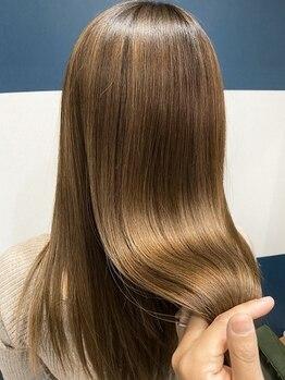 ヘアサロンアンドヘアメイクディー(hair salon hair make D)の写真/SNSで話題のTOKIOトリートメント取り扱い★軽い質感で思わず触りたくなるサラツヤ美髪に導く♪