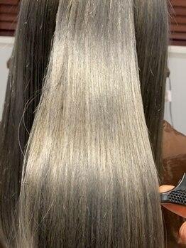 アース オーセンティック 三鷹店(EARTH Authentic)の写真/【業界初】髪質改善トリートメントが当店にも登場♪毛先まで潤う極上のウルつや仕上げ☆