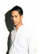 ミンクス ハラジュク(MINX harajuku)阿部寛さん風 ツーブロック 男性 短髪 黒髪 刈上げショート