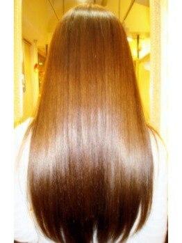"""マカリィ 巣鴨店(hair&make Makalii)の写真/【これはスゴい!】最強トリートメント""""TOKIO""""であなたの髪を徹底修復☆ずっと触れていたいうる艶美髪へ♪"""