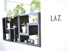 ラズ(Laz hair)の雰囲気(多肉植物や観葉植物が落ち着いた空間を演出。[わさだ店])