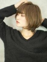 ベックヘアサロン 広尾店(BEKKU hair salon)大人可愛い、ひし形美シルエットショートボブ☆