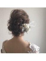 【結婚式やパーティーに】へアアレンジ☆