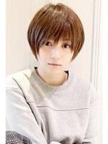黒髪☆真木よう子さん風ショートスタイル【外苑前・青山】