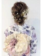 ディティカ(Dityca...hair&make)夏のイベントに☆浴衣ヘアセット