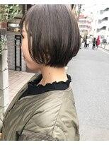 ケンジ 横浜(KENJE)ショートボブ・オリーブグレージュ