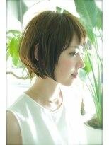 【BALLOON HAIR】美首ライン小顔ショート