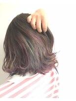 ヘアメイク オブジェ(hair make objet)インナー☆ユニコーンカラー☆★KAI☆★