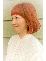 オッヂヘア(oggi hair)デザインカラーBOB