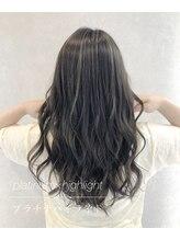 ヘア メイク エル(E'L)ミルクティー、イルミナ、髪質改善、インナー、ハイライト