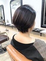 エトネ ヘアーサロン 仙台駅前(eTONe hair salon)ツヤ髪ショートボブ