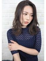 ヘアーブランド リンク 三宮店(HAIR BRAND Link)【Link】抜け感スモーキーベージュ