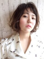 モウ ライフヘアー(MOW LIFE HAIR)MOW☆グラデーション × 外ハネボブ