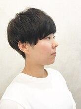 アクイール ピュール ヘア(Accueillir Pur hair)刈り上げショートマッシュ【見附】【長岡】