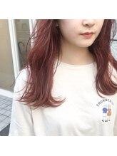 アルマヘアー(Alma hair by murasaki)ローズピンクのロングレングス
