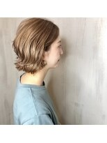 ソース ヘア アトリエ 京橋(Source hair atelier)【SOURCE】ジュエリーベージュ