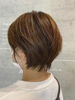 レザボア ヘアーアンドビューティー ハイブ店(reservoir Hair&Beauty Haibe)襟足スッキリショート
