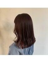 ヘアーアイストゥーレ(HAIR ICI TRE)暖色 チェリーピンク