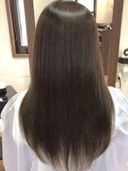 ヘアーデザイン リィル(Hair design Rire)の写真/[oggiottoトリートメント]自分の髪に思わずうっとり♪厳選薬剤と選べるトリートメントで愛され潤いヘアに★