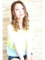 ヘアサロン クリア(hair salon CLEAR)☆ハーフモデル風×波巻☆
