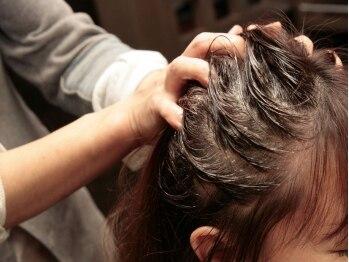 ルーチェ ヘアー(LUCE hair)の写真/日々の疲れを癒し美髪に導く…頭皮を健康に保ち美髪効果もバッチリ◎リフトアップや血行促進にもオススメ!