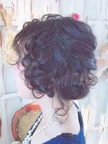 カリラ(CAOLILA)華やかパーティイヘア。結婚式セット