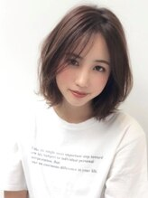 アグヘアー アウラ 堺東店(Agu hair aura)《Agu hair》とろみハニーボブ