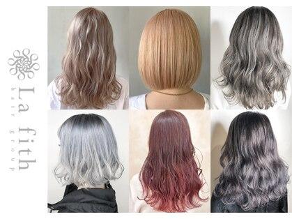ラフィスヘアー ハーツ 松井山手店(La fith hair hearts)の写真