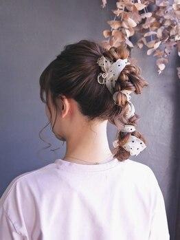 ティット(tytto)の写真/「ヘアセットを日常に―」いつもの毎日をひとつオシャレにしてくれる★可愛い髪型で今日をステキな1日に。